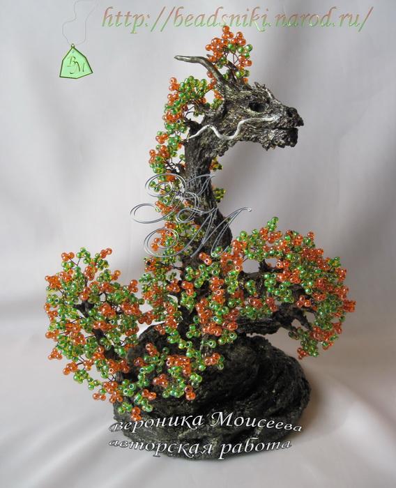 схемы Бисерные деревья