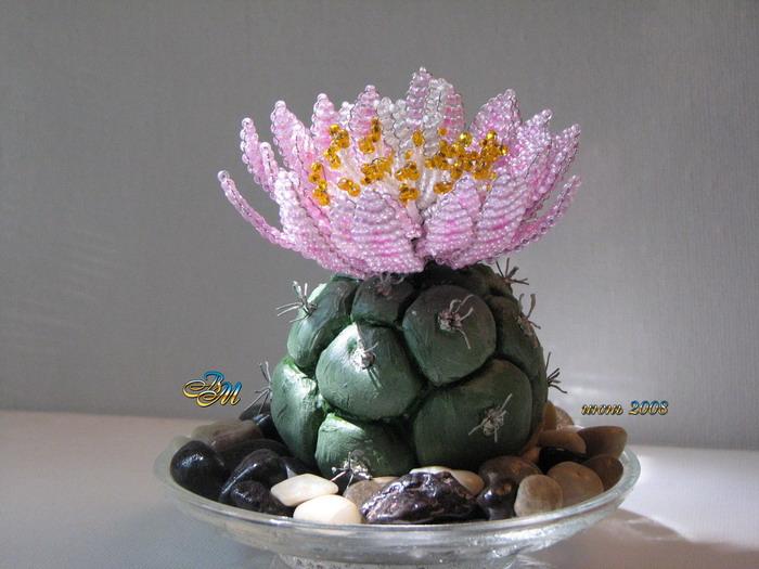 2 мар 2010 плетение кактуса из бисера. .  Необходимые материалы для плетения кактуса: - Мелкий бисер 10 зеленого...